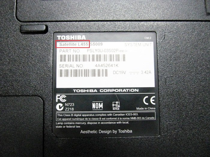 Identify Your Laptop Laptopchargerfactory Com