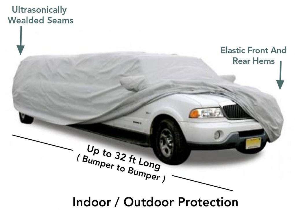 Up to 32Ft Long SUV Limo Cover