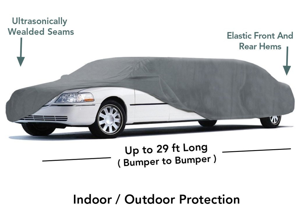 Up to 29Ft Long Limo Car Cover