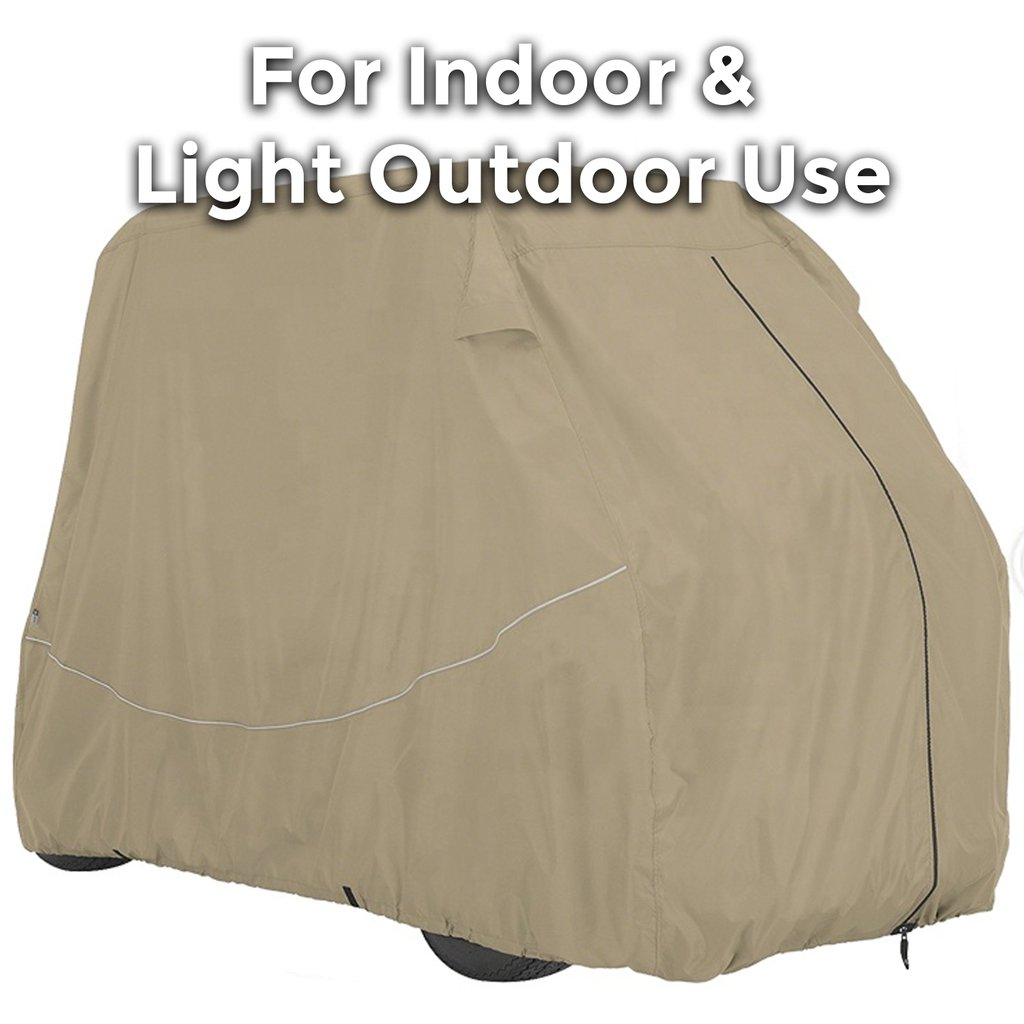 6 Seater Golf Cart Cover Up To 140 Inches Long - Standard Edition