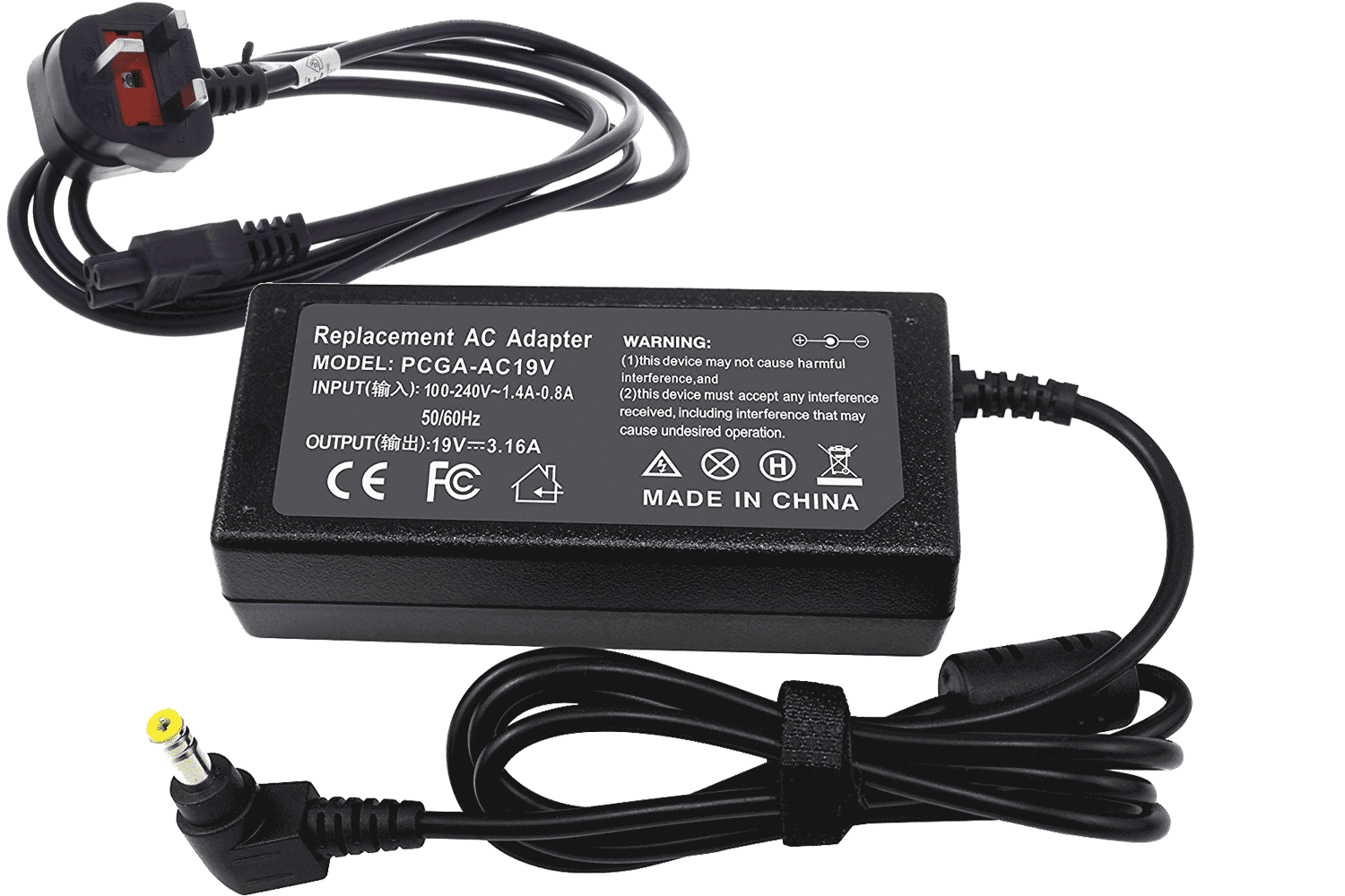 Acer AcerNote 367D Laptop Charger / Power Adapter